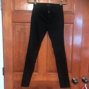 Solid black jeans
